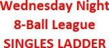 Rack-em-up Pool Hall & Bar - Wednesday 8-Ball League Singles Ladder